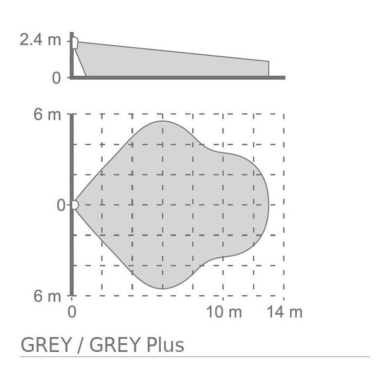 Satel GREY Plus digitální PIR+MW detektor