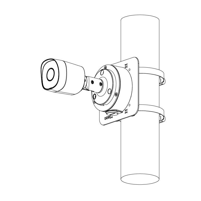 Dahua HAC-B2A21-0360B 2 Mpx kompaktní HDCVI kamera