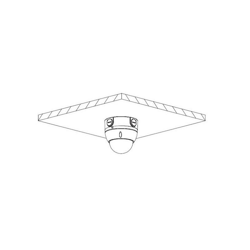 Dahua HAC-HDBW1200EP-0280B-S4 2 Mpx dome HDCVI kamera