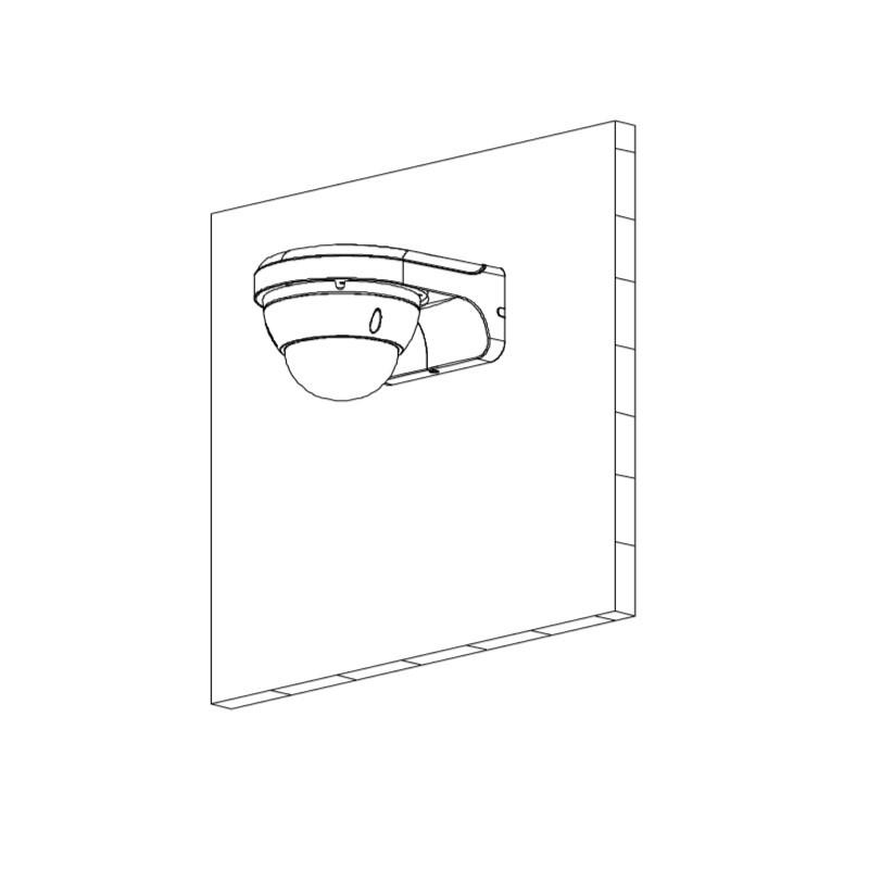 Dahua HAC-HDBW1200EP-0360B-S4 2 Mpx dome HDCVI kamera