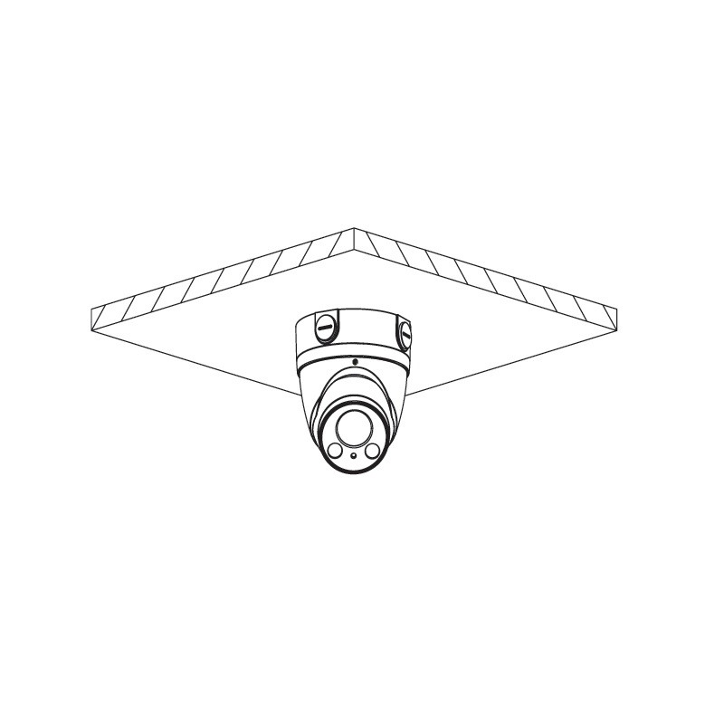 Dahua HAC-HDW1200TP-Z-2712-S4 2 Mpx dome HDCVI kamera