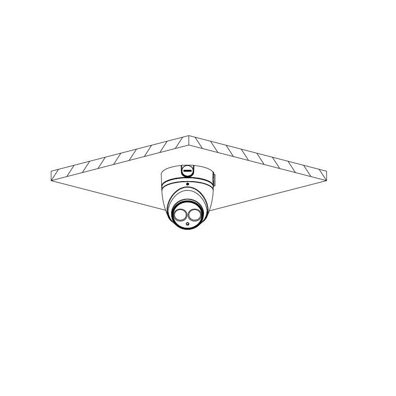 Dahua HAC-HDW1400EMP-A-0280B-S2 4 Mpx dome HDCVI kamera