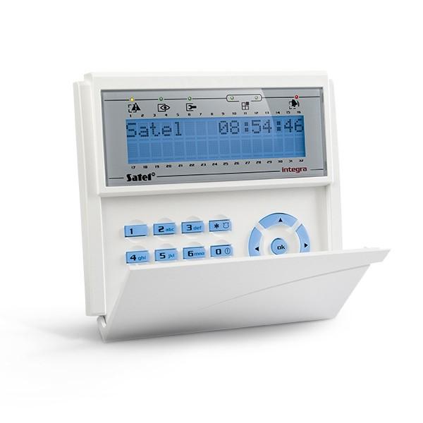 Satel INT-KLCD-BL LCD klávesnice s dvířky