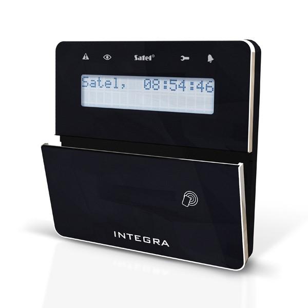 Satel INT-KLFR-BSB LCD klávesnice s dvířky a RFID