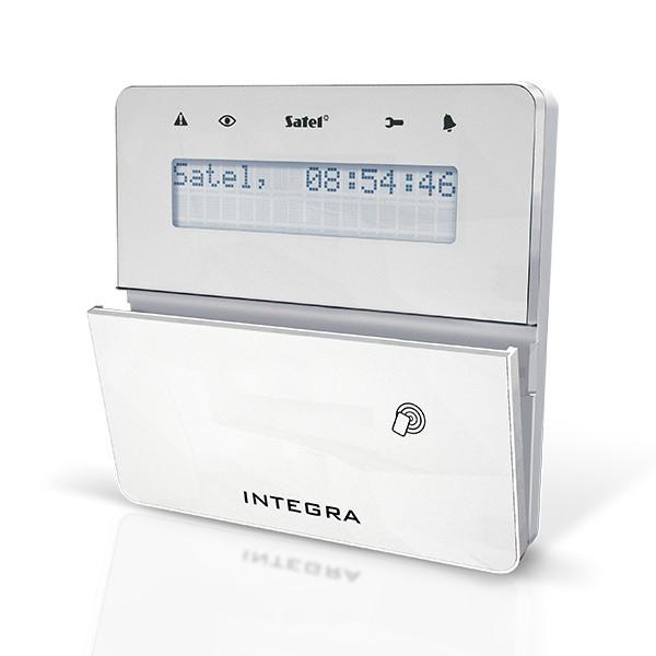 Satel INT-KLFR-WSW LCD klávesnice s dvířky a RFID