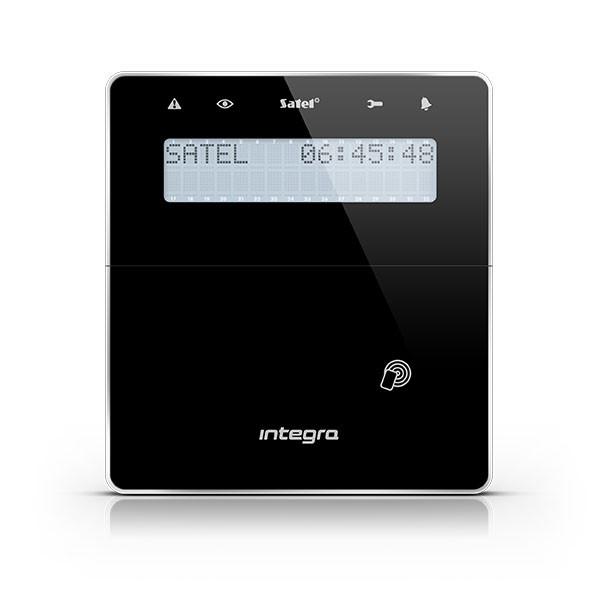 Satel INT-KWRL-BSB bezdrátová LCD klávesnice s RFID