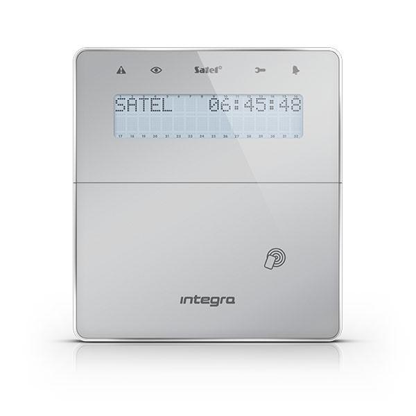 Satel INT-KWRL-SSW bezdrátová LCD klávesnice s RFID