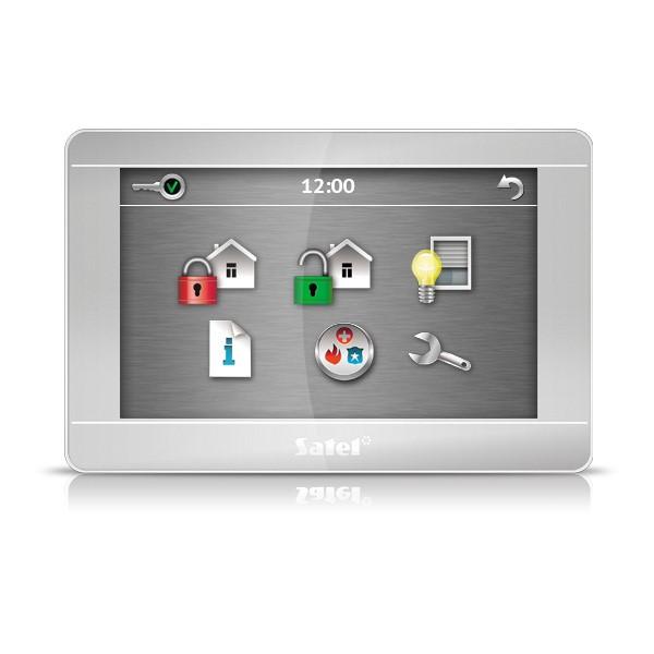 """Satel INT-TSH-SSW dotykový ovládací panel 7"""""""