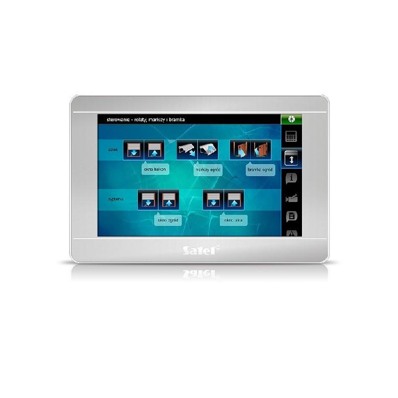 """Satel INT-TSI-SSW 7"""" dotykový ovládací panel"""