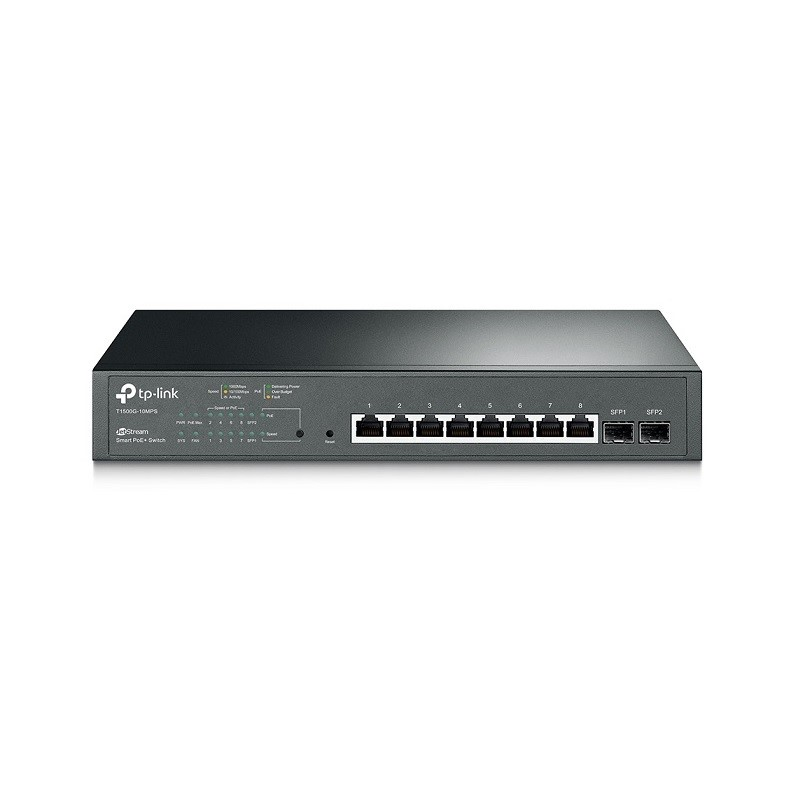 IP8 SWITCH POE GBIT 2SFP
