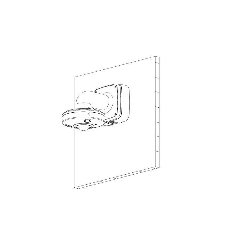 Dahua IPC-EBW81230P 12 Mpx fisheye IP kamera