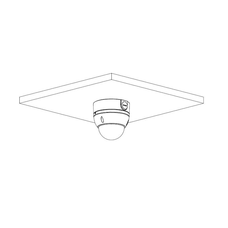 Dahua IPC-HDBW2231E-S-0360B-S2 2 Mpx dome IP kamera