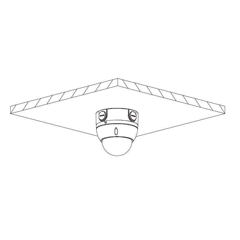 Dahua IPC-HDBW4831EP-ASE-0400B 8 Mpx dome IP kamera