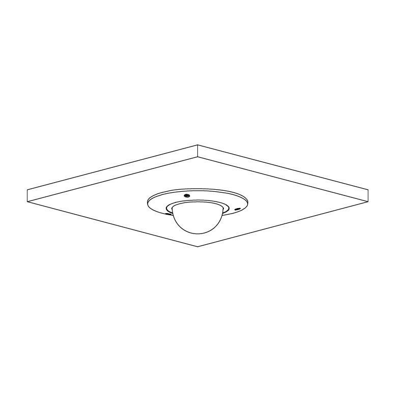 Dahua IPC-HDBW5541R-ASE-0280B 5 Mpx dome IP kamera
