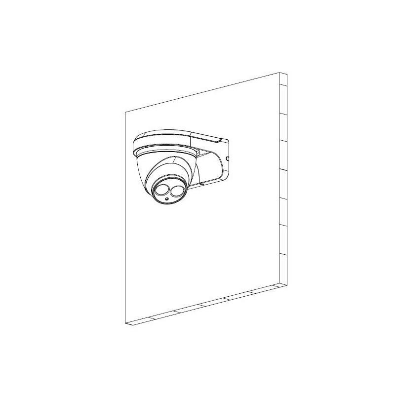Dahua IPC-HDW4431EM-ASE-0280B 4 Mpx dome IP kamera