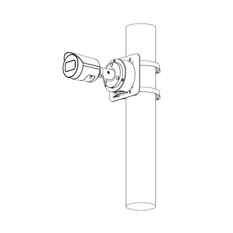 Dahua IPC-HFW2231S-S-0360B-S2 2 Mpx kompaktní IP kamera