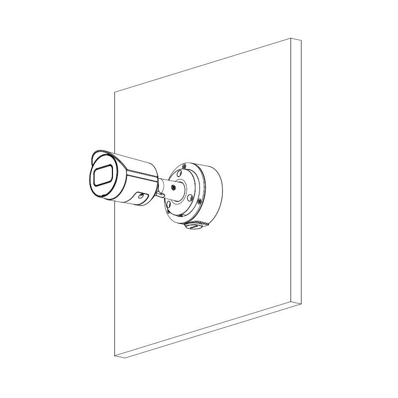 Dahua IPC-HFW2431S-S-0280B-S2 4 Mpx kompaktní IP kamera
