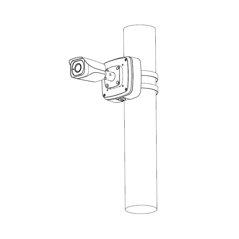 Dahua IPC-HFW4831EP-SE-0400B kompaktní IP kamera