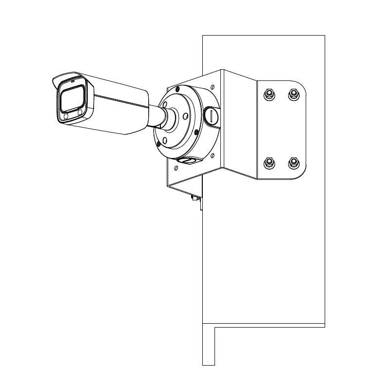 Dahua IPC-HFW5541T-ASE-0280B 5 Mpx kompaktní IP kamera