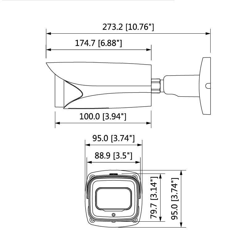 Dahua IPC-HFW81230EP-ZEH kompaktní IP kamera