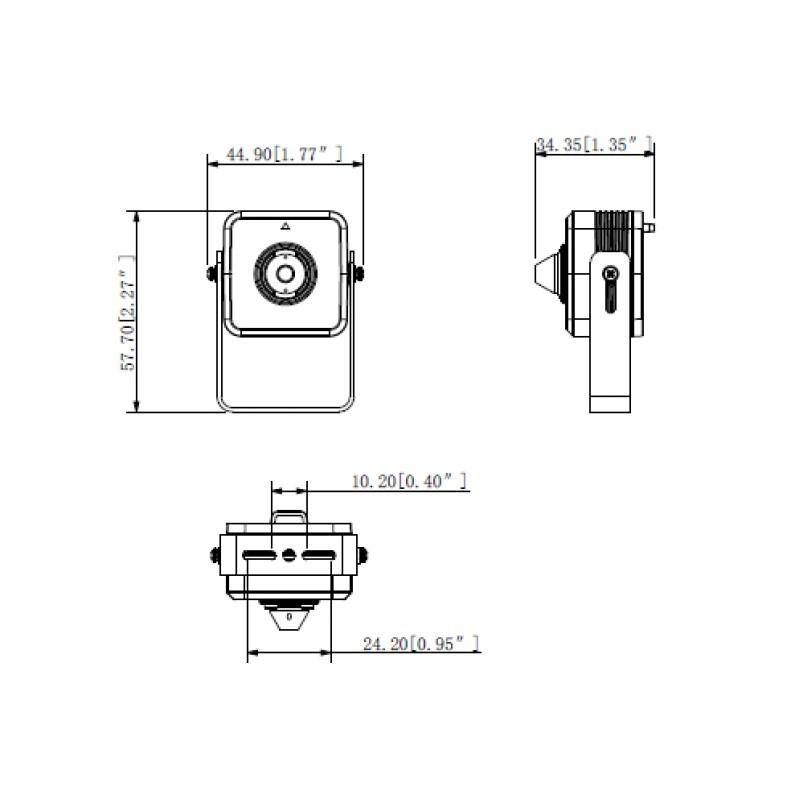 Dahua IPC-HUM4231P-0280B 2 Mpx pinhole IP kamera