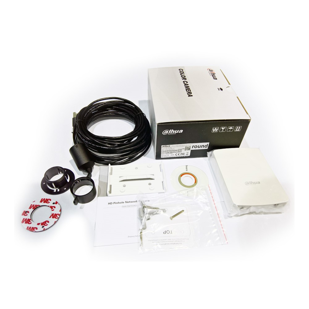 Dahua IPC-HUM8101P round 1,3 Mpix round mikro pinhole IP kamera