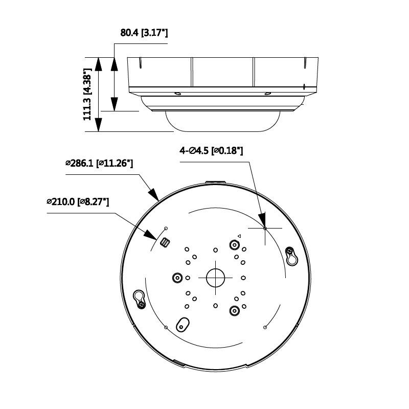 Dahua IPC-PDBW5831-B360 4x 2 Mpx vícesenzorová IP kamera