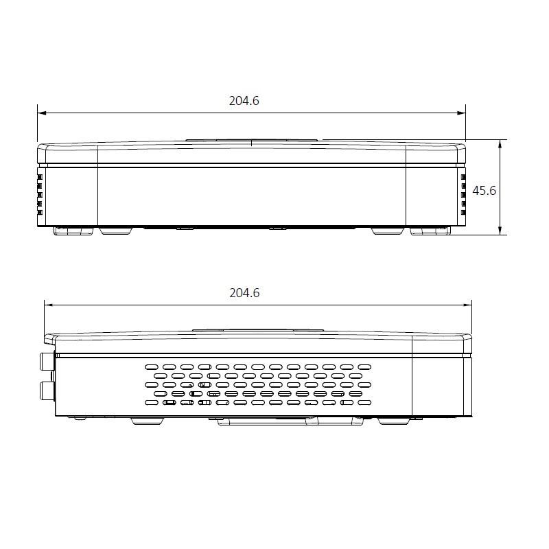 Dahua NVR2104-4KS2 IP záznamové zařízení 4K