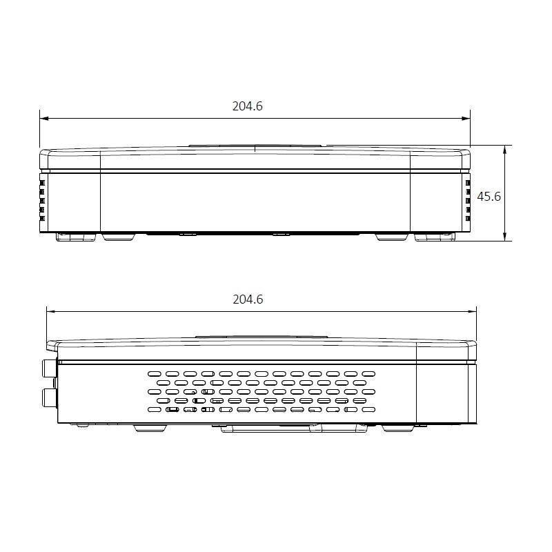 Dahua NVR2108-4KS2 IP záznamové zařízení 4K