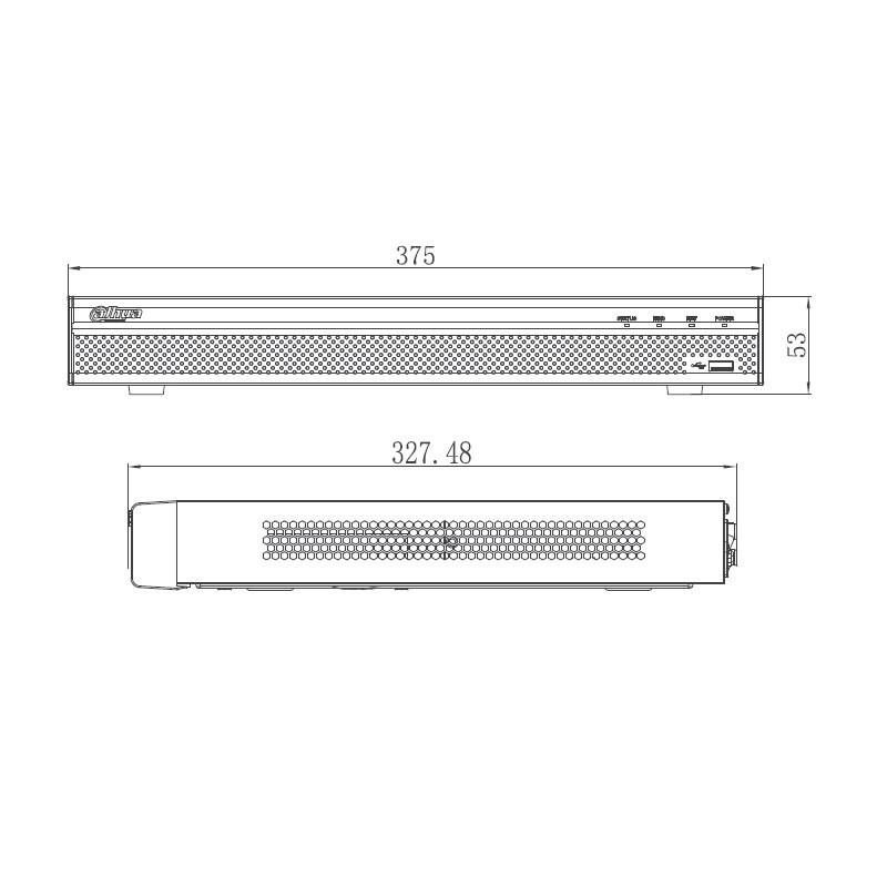 Dahua NVR4216-16P-4KS2 IP záznamové zařízení