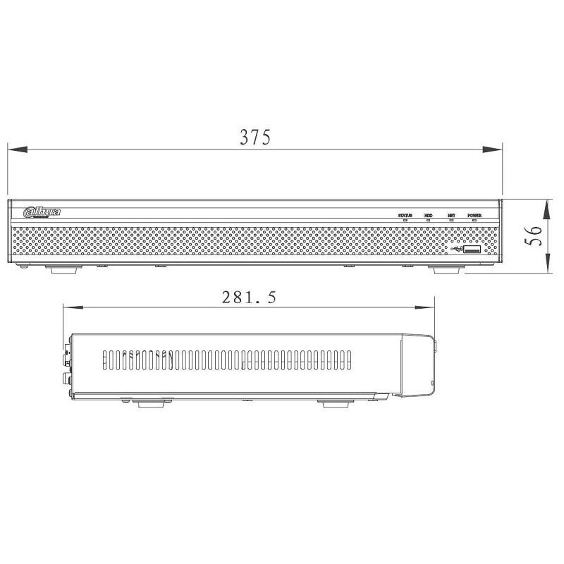 Dahua NVR4232-4KS2 videorekordér IP