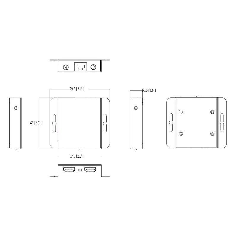 Dahua PFM700-E HDMI extender po UTP kabelu