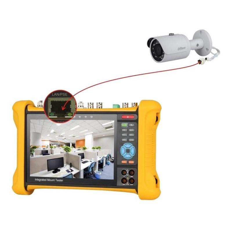 Dahua PFM906 integrovaný tester IP, HDCVI, AHD, TVI a analogových kamer