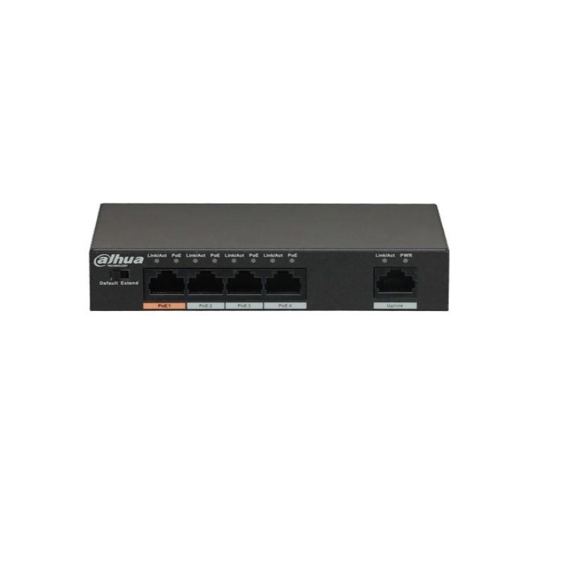Dahua PFS3005-4ET-60 4portový PoE switch