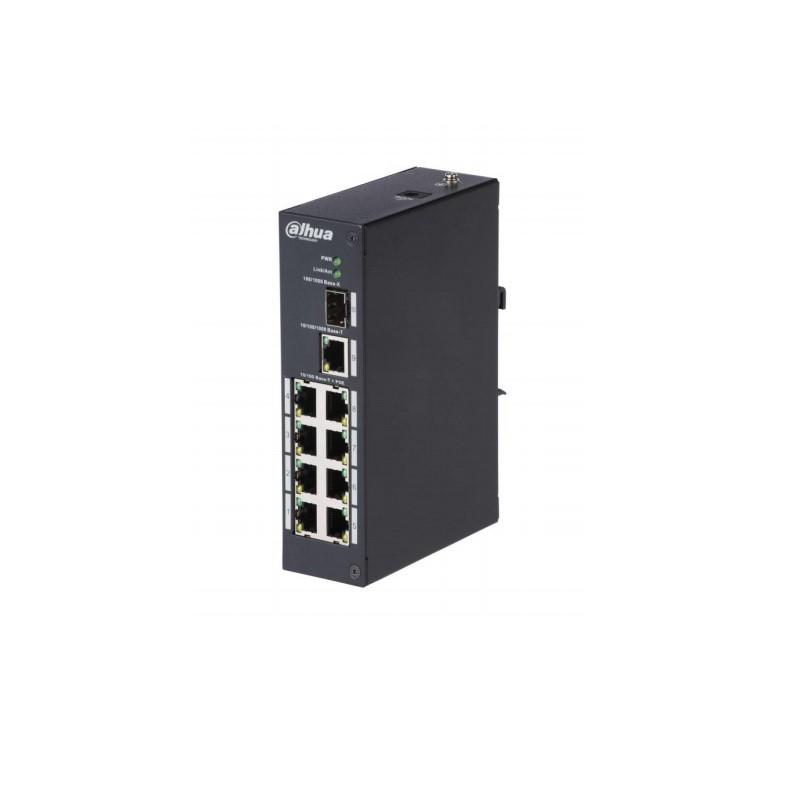 Dahua PFS3110-8P-96 8-portový switch PoE