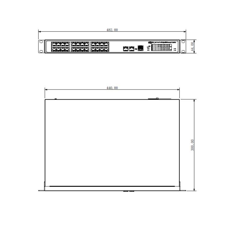 Dahua PFS4226-24GT-360 24portový PoE switch