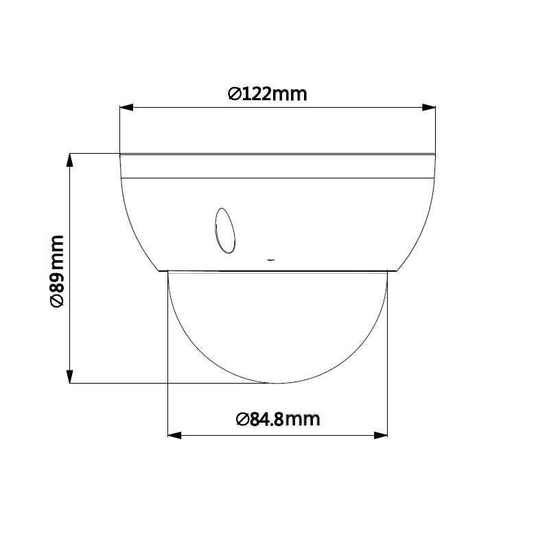Dahua SD22204UE-GN 2 Mpx PTZ dome IP kamera