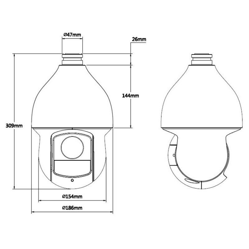 Dahua SD59430I-HC-S2 PTZ 4 MPx kamera HDCVI