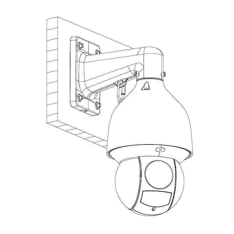 Dahua SD5A445XA-HNR 4 Mpx PTZ IP kamera