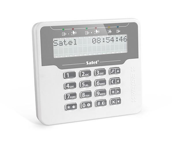 Satel VERSA-LCDM-WH klávesnice LCD
